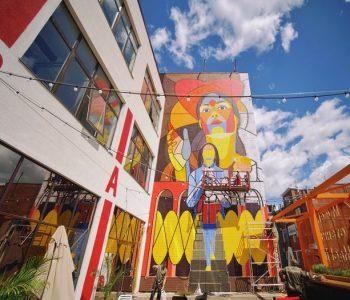 Уличные художники создают арт-квартал в центре Тулы